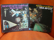 2 VINYLS 33T EX ! – VAN MC COY : MOVIE MACHINE & RYTHMS WORLD – DISCO FUNK SOUL