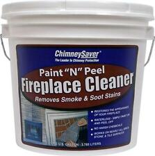 "ChimneySaver Paint ""N"" Peel Fireplace Cleaner 1 Gal ships today wFree UPS Ground"