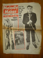 MELODY MAKER 1977 NOV 19 IAN DURY TUBES MULL OF KINTYRE