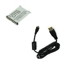 Ladekabel USB Kabel und Akku für Nikon Coolpix S3100 S3200 S3300 S3400 S3500