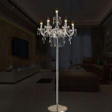 Lampes transparents en cristal pour la maison