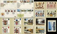 BRITISH FDC First Day Cover Stamps Postage Postcard Royal Mail Collection