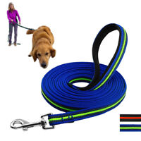 Extra Long Dog Leash Recall Obedience Nylon Tracking Lead 10ft/16ft/33ft/50ft