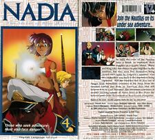 Nadia Secret Blue Water Vol 4 Battleground Anime VHS Video New English Dubbed