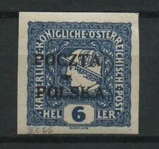Polen 1919 Fischer Nr 52 * MH krakauer Ausgabe geprüft Jendroszek BPP