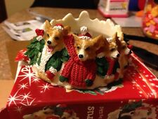 E&S Pets Pembroke Welsh Corgi Dog Pet Candle Topper New!
