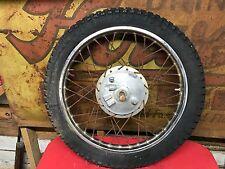 Yamaha RT2 360 Front Wheel RT1  DT1 DT2 250 Rim Hub Brake Plate 1972