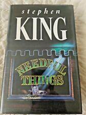 Needful Things UK 1st Edition by STEPHEN KING Hardcover Novel