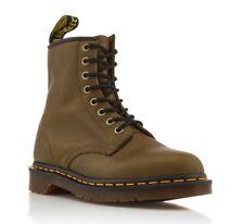 Dr. Martens 1460 Grenade Green Carpathian Leather BOOTS Size UK 12