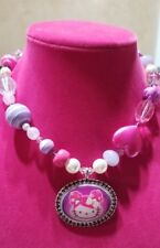 Hello Kitty x Tarina Tarantino Pink Head Collection Adjustable Necklace