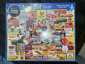 White Mountain Breakfast by Charlie Girard 1000 Piece Puzzle