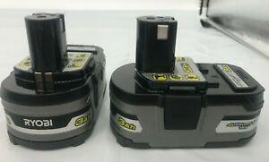 RYOBI P191 18-Volt Lithium ONE+ 3.0Ah Battery, 2-PACK LN