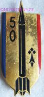 IN7564 - INSIGNE 50° Régiment d'Artillerie, roquette fine, 1 boléro Drago