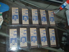 1949 AAFC Baltimore Colts Matchbook Cover SET of 10 with Tittle and Gambino