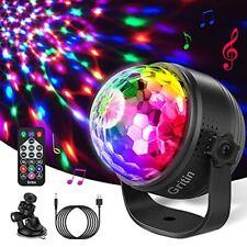 Discokugel LED Party Lampe, Gritin Discolicht Kinder Musikgesteuert Disco