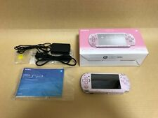 SONY Playstation Portable Console PSP-2000 Rose Pink decorated Japan #070