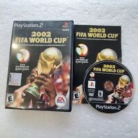 2002 FIFA World Cup (Sony PlayStation 2 PS2, 2002) Complete FREE SHIPPING!