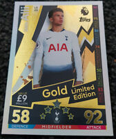2018/19 Match Attax EPL Soccer Card - Dele Alli Gold Limited Edition LE2G Spurs