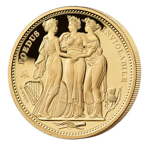 Masterpiece 2021 Three Graces 2oz Gold Proof Coin