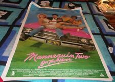 Mannequin Two On the Move Movie Rental Poster 1991 Comedy Kristy Swanson