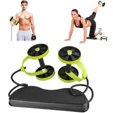 Abdominal Abs Roller Waist Wheel Handle Workout Machine Fitness Exercise