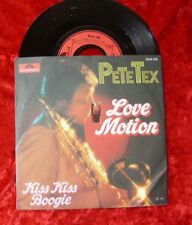 Single Pete Tex: Love Motion