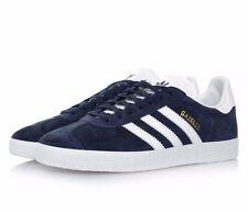 Adidas Originals Gazelle BB5478 Navy Blue  Gold Leather Men Shoes