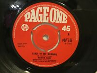 "Vanity Fare – Early In The Morning - 7"" Vinyl Single 1969 - Ref.G457"