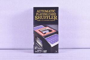 Cardinal Automatic Playing Card Shuffler Shuffles 1 or 2 Card Decks Completely