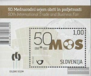 slovenia block98 (complete issue) unmounted mint / never hinged 2017 craft and U