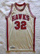 Mitchell Ness M&N Hawks Lenny Wilkens authentic jersey USA Durene Dureen 42 44 L