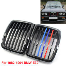 51131884350 For 82-94 BMW E30 Grill 3 Serie Front Hood Kidney Grille M3 Stylish