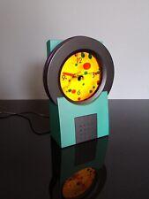 Pendule horloge KENART Perpetual motion mobile liquid rétro 90's style memphis