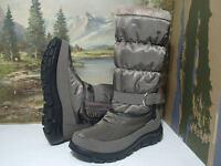 Lackner Stiefel Boots Winter Damenschuhe olivgrün 36-42 7756 Neu16