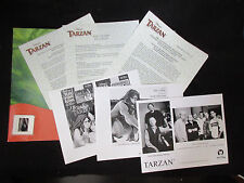 Tarzan Sound Track US Promo Press Release Kit w Photo Phill Collins 'N Sync