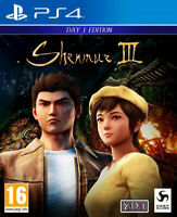 Shenmue III 3 Jeu Sony Playstation 4 PS4 Day 1 Edition Neuf Version Française