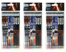 36pc Star Wars The Force Awakens School  Pencils w/erasers for Party Goody Bag