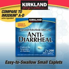 400 ct Kirkland Loperamide Hydrochloride 2mg Anti-Diarrheal Caplets Sealed New