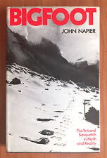 Bigfoot: The Yeti and Sasquatch in Myth and Reality, John Russell Napier, VG HB