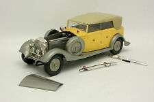 Maquette Plastique 1/24 - Rolls Royce Jaune et Grise