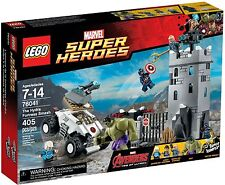 Lego 76041 Super Heroes The Hydra Fortress Smash Complete. NEW. Box has crease.