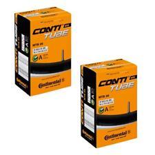 2 x Continental MTB 26 Mountain Bike inner tube Schrader Valve 1.75 to 2.5