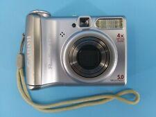 Canon PowerShot A540 5.0MP Digital Camera with 18 shooting modes - Silver