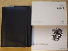 Hyundai I40 Manual Del Propietario Manual Cartera De Audio Y Libro De Servicio Paquete de 2011-2016
