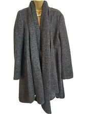 Zara Wool Silk Shawl Coat Size S 8/10