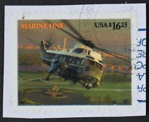U.S. Used #4145 $16.25 Marine One (on piece), Superb. Cancel Clears Design. Gem!