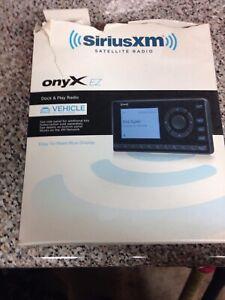 XM-XEZ1V1 Onyx EZ Satellite Radio with Vehicle Kit New!!! Open Box