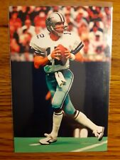 Roger Staubach Cowboys Football 4x6 Game Photo Picture Card