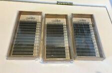 3-Pack Lot LashView .07 6D C curl 11, 12, 13 mm Premade Fan Mink lash Extensions