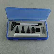 Otoscope Earcare Diagnostic Set With Speculum Led Light Pen Shape Home Medical